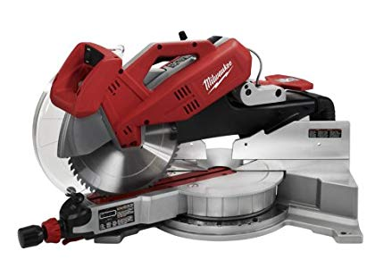 Milwaukee 6955-20 12-Inch Sliding Dual Bevel Miter Saw, Great for home  woodworkers